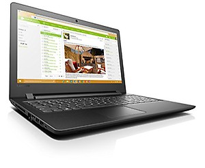 Lenovo ideapad110 80UD00RYIH 15.6-inch Laptop (6th Gen i3-6006U/4GB/1TB/DOS/Integrated Graphics), Black Texture price in India.