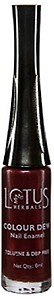 Lotus Herbals Colour Dew Nail Enamel, Cranberry Star, 7ml