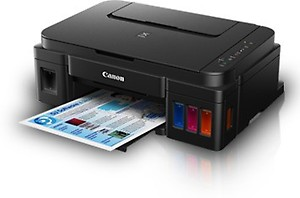 Canon Pixma G3000 All-in-One Wireless Ink Tank Colour Printer price in India.