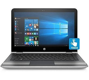 HP Pavilion 13-U004TU 13.3-inch Laptop (Core i3-6100U/4GB/1TB/Windows 10 Home/Integrated Graphics), Natural Silver price in India.