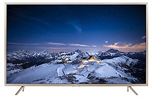 TCL 109.3 cm (43 inches) L43P2US 4K UHD LED  Smart TV (Golden) price in India.