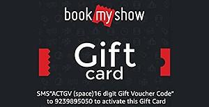 50% off on BookMyShow Digital Voucher