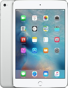 Apple iPad Mini 4 Tablet (7.9 inch, 16GB, Wi-Fi+3G), Silver price in India.