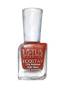 Lotus Herbals Ecostay Nail Enamel, Coral Flush E2, 10ml