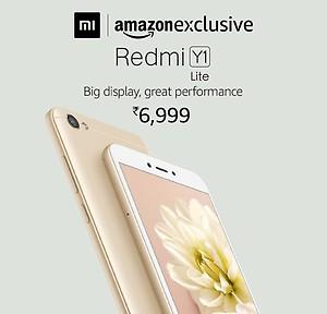 Redmi Y1 Lite Rs.6999 @Amazon [Sale @12pm)