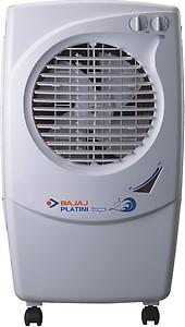 Bajaj Platini PX97 TORQUE 36 Ltrs Room Air Cooler (White) price in India.