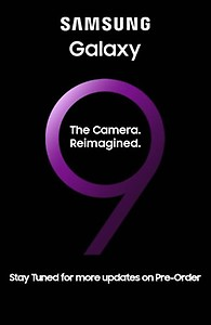 Prebook Galaxy S9  (Unveiling @10:30pm)
