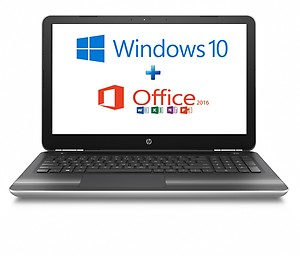 HP 15-au628tx/Core i7/8 GB DDR4/15.6 Inch/Windows 10 Grey Laptopwith MS Office Home & Student price in India.
