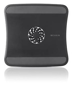 Belkin F5L055BTBLK Laptop Cooling Pad with Patented Air-flow Wing (Black)