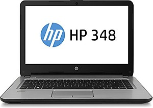 "HP 348 G4-1AA07PA Laptop (i5- 7200U, 8GB DDR4 RAM, 1TB SATA, Win 10 Pro, 14"" LED HD, DVDRW ODD, With Bag) price in India."