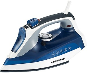 Morphy Richards Super Glide 2000-Watt Steam Iron (White/Blue) price in India.