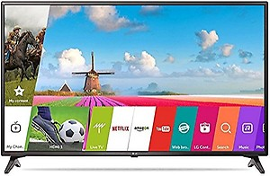 LG 108 cm (43 inches) 43LJ554T Full HD LED Smart (Ceramic Black) price in India.