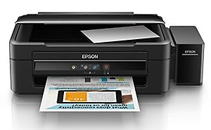 Epson L361 Multi-Function Ink Tank Colour Printer (Black) price in India.