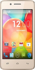 Micromax BHARAT 2 10.16cm(4inch) 4G Androidphone(Q402) internet(Champagne) price in India.