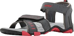 Lotto Men Grey/Red Sandals