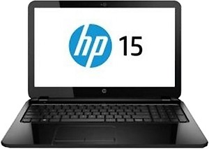 HP 15-r205TU Notebook (K8U05PA) (5th Gen Intel Core i3- 4GB RAM- 500GB HDD- 39.62cm (15.6)- DOS) (Black) price in India.