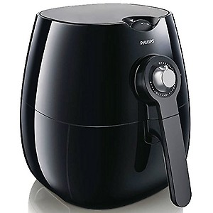 Philips Viva Collection HD9220 Air Fryer with Rapid Air Technology (Black) price in India.