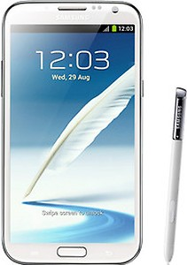 Samsung Galaxy Note 2 (Marble White, 16 GB) price in India.