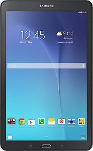 Samsung Galaxy Tab E 8 GB 9.6 inch with Wi-Fi+3G Tablet price in India.
