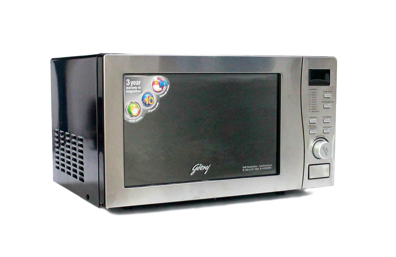 Godrej GMX 20CA5-MLZ 20 L Convection Microwave Oven Price In India, Coupons  and Specifications   amex